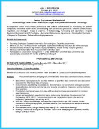 Sample Resume Objectives Construction Management by There Are Two Types Of Biotech Resume One Is The Academic Resume