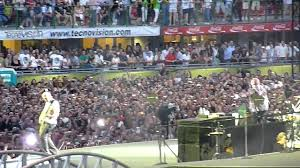 stadio san siro ingresso 8 ingresso stadio e inizio concerto u2 360皸 live san siro