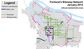 Trimet Map Gaps Abound In Portland U0027s Bike Network Bikeportland Org
