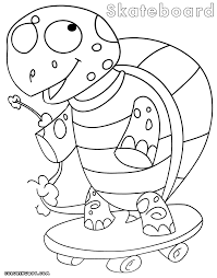 skateboard coloring pages 28 images coloring pages for