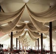 ceiling draping for weddings real country wedding hillsburgh ontario sheer drapes tents