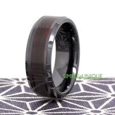 ceramic wedding bands mens ceramic wedding band mens wedding band wood promise