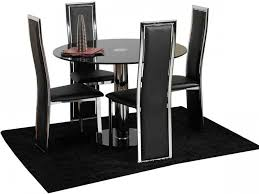 furnitures dining set with bench awesome black dining chairs set