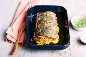 cuisiner des gardons recette rôti de truite aux poireaux et pommes de terre