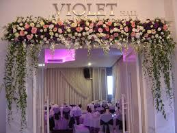 wedding arch entrance entrance decorations amalka flora