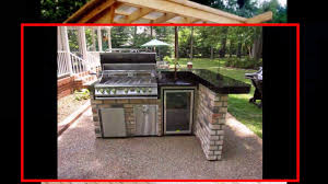 backyard kitchen ideas cheap outdoor kitchen ideas youtube