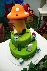 smurfs kids party cake party birthday ideas