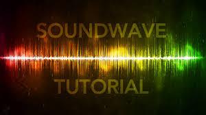 soundwave effect photoshop by qehzy youtube