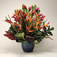 tropical flower arrangements large tropical flower bouquet send