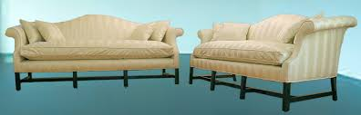 Camelback Sofa For Sale Two Chippendale Camelback Sofas For Sale Antiques Com Classifieds