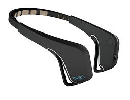 eeg headband muse the brain sensing headband black