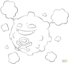 koffing coloring page free printable coloring pages