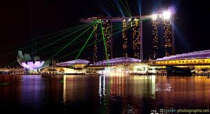 Bay Bridge Light Show Singapore Photos The Best Images Of The City By Night