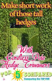 13 best cordless pole hedge trimmer images on hedges