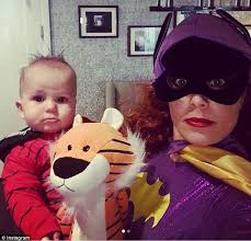 dylan dreyer lingerie today hosts show off kids halloween costumes in new york daily