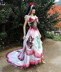 Halloween Costumes Spanish Dancer Los Muertos Mexican Sugar Skull Bride Spanish Dancer