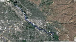 Boise Greenbelt Map Seeking Volunteers For The City Of Trees Marathon In Boise On 10 8