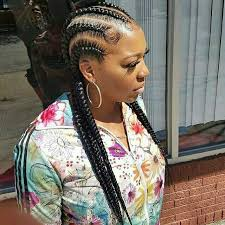 straight back hairstyle the straight back cornrows don t usually look right on me but