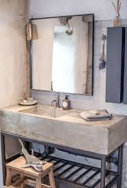 How To Make A Concrete Sink For Bathroom Best 25 Concrete Sink Ideas On Pinterest Concrete Sink Bathroom