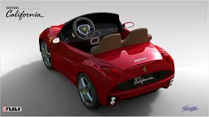 ferrari electric car ferrari california 12 volt feber special for 699 00 electric