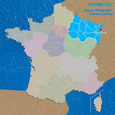 Alsace France Map by Alsace Champagne Ardenne Lorraine Is Now Called Grand Est French