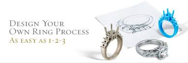 create your own ring as easy as 1 2 3 www moissanitefinejewelry
