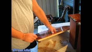 how to varnish boat interior parts youtube