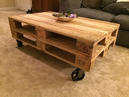 Vintage Coffee Table With Wheels 11 Exles Of Diy Furniture With Caster Wheels