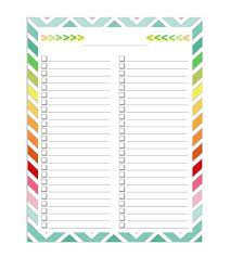 free checklist template word excel calendar template letter