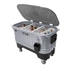 patio cooler ice chest bar igloo led party portable tailgate