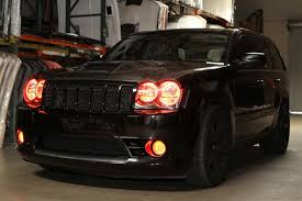 jeep srt8 grill trufiber jeep grand srt8 style carbon fiber 2005