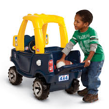kid play car little tikes cozy truck