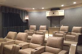 Home Theater Chair Home Theater Seating Advanced Integrated Controls