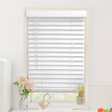 cut to order faux wood blinds 48 u0027 u0027 length