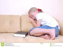 Sleeping On The Sofa Little Sleeping On Couch Stock Image Image 16302531