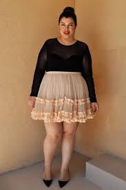 9 tips for plus size girls who want to rock voluminous skirts