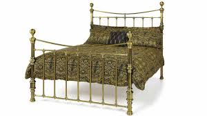 impressive victoria antique brass bed frame next day select