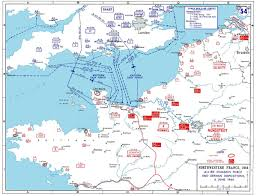 Tcc Map American Airborne Landings In Normandy Wikipedia