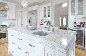 carrara marble kitchen island which granite looks like white carrara marble