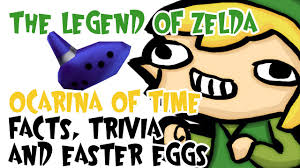 easter facts trivia the legend of zelda ocarina of time facts trivia and easter eggs
