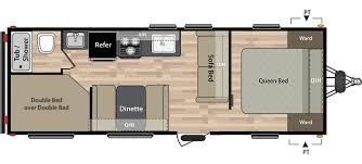 20 Foot Travel Trailer Floor Plans Summerland