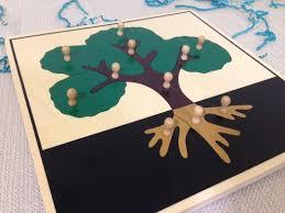montessori tree puzzle montessori by