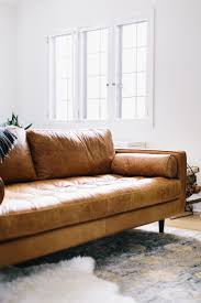 best 25 contemporary leather sofa ideas on pinterest small