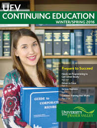 ufv continuing education brochure by university of the fraser