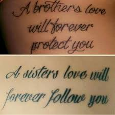 brother and sister brother and sister tattoo pinterest