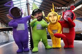Teletubbie Halloween Costume Photoshop Battles Teletubbies U003d Ultimate Meme Team Album