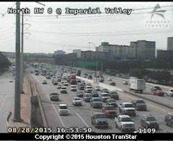 Houston Transtar Map 3 Vehicle Crash On I 45 Beltway 8 Blocks Rush Hour Traffic