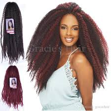 marley hair extensions 2018 18inch 100g synthetic hair extensions afro kinky hair kinky