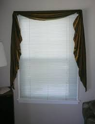 Making A Window Valance How To Make A Fishtail Valance With Pictures Wikihow