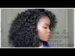 hair weave styles 2013 no edges how to blending your natural hair with curly extensions no heat